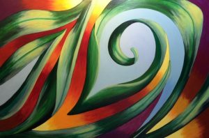 Ginger Heydman Verdant Acrylic $950