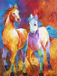 "Betty Townsend Painter ""Unbridled"""