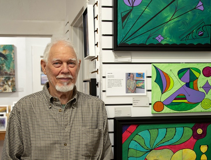 Allen Heydman Interview with and Artist #arton12gallery