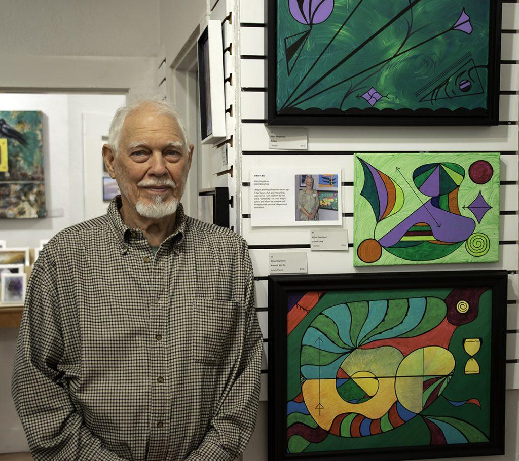Allen Heydman Interview with and Artist #arton12gallery