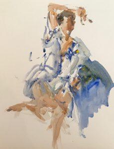 Gordon Fowler Watercolor