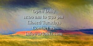 Store Hours 11am - 5:30pm closed Tues