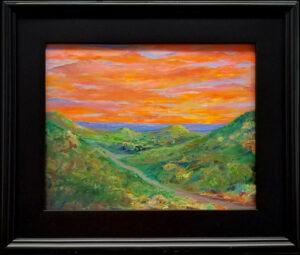 Sunset over Wimberley